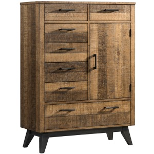 Urban Rustic Gentleman's Chest with 6 Drawers