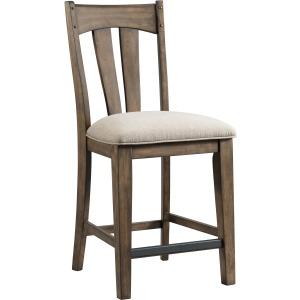 Whiskey River B/S Splat Back w/Cushion Seat