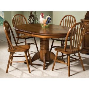 42 x 60 Pedestal Dining Table