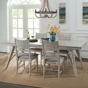 Modern Rustic 5 PC Dining Set