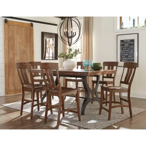 District 7 PC Pub Dining Set