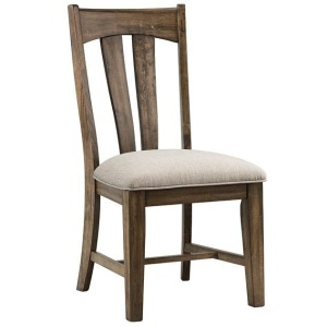 Whiskey River Splat Back Side Chair w/Cushion Seat
