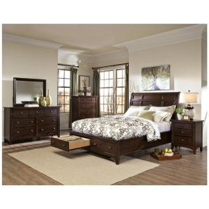 Jackson King Sleigh Storage Bed