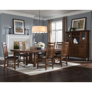 Oak Park 7 PC Dining Set