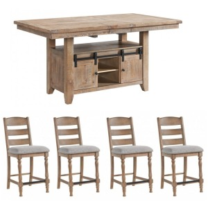 Highland 5 PC Counter Height Dining Set