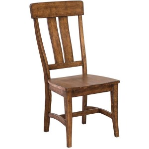 District Splat Back Side Chair