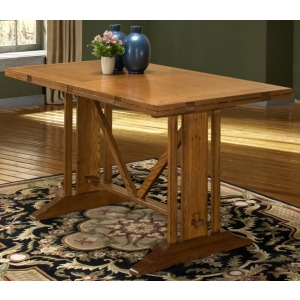 42 x 70-90 Trestle Table