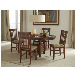 Mission Casual Dining Table with Box Base