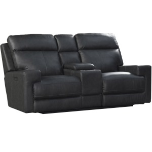 Solana Triple Power Loveseat with Lumbar - Space Gray