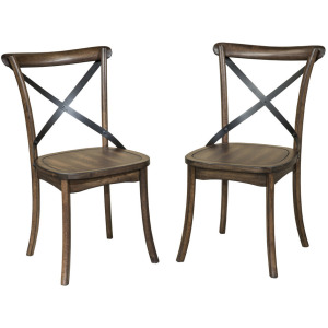Lindsay X-Back Side Chair - 2 Pack