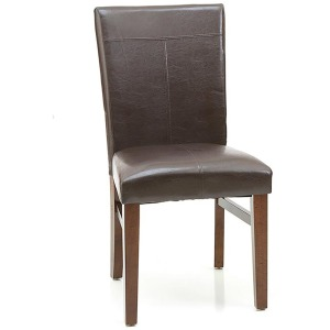 Parson's Side Chair w/Cushion - Raisin