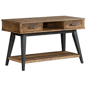 Urban Rustic Sofa/Media Table