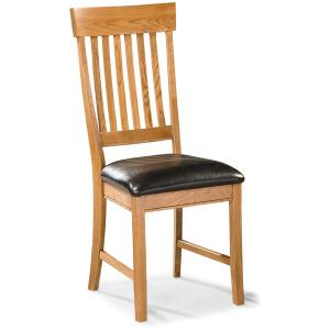 Family Dining Slat Back Chair w/Cushion