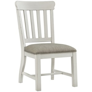 Drake Slat Back Chair w/Cushion Seat