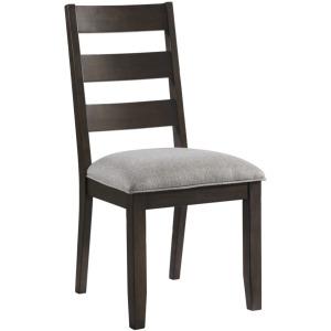 S/C, Ladder Back w/Cushion