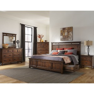 Cal King/King Panel Bed