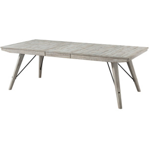 Modern Rustic Trestle Dining Table