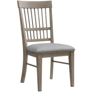 Beckett Spindle Back with Cushion Side Chair