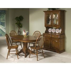 Classic Oak 5PC Dining Set