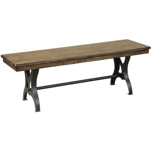 District Backless Bench