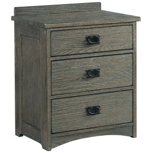 Oak Park 3 Drawer Nightstand