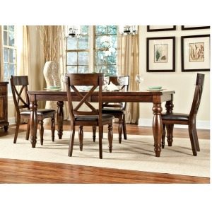 Kingston Dining Room Furniture 42 x 72-90 Dining 18 Bfly Lf