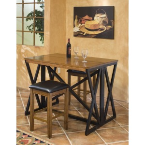 Siena 24 Backless Barstool Set up