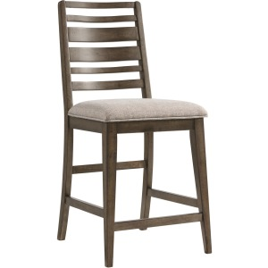 Highland Ladder Back w/Cushion Seat Barstool