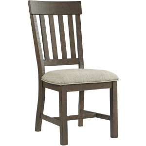 Sullivan Slat Back w/Cushion Seat Side Chair