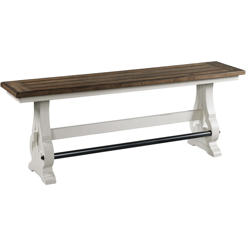 Backless Bench, Counter Height