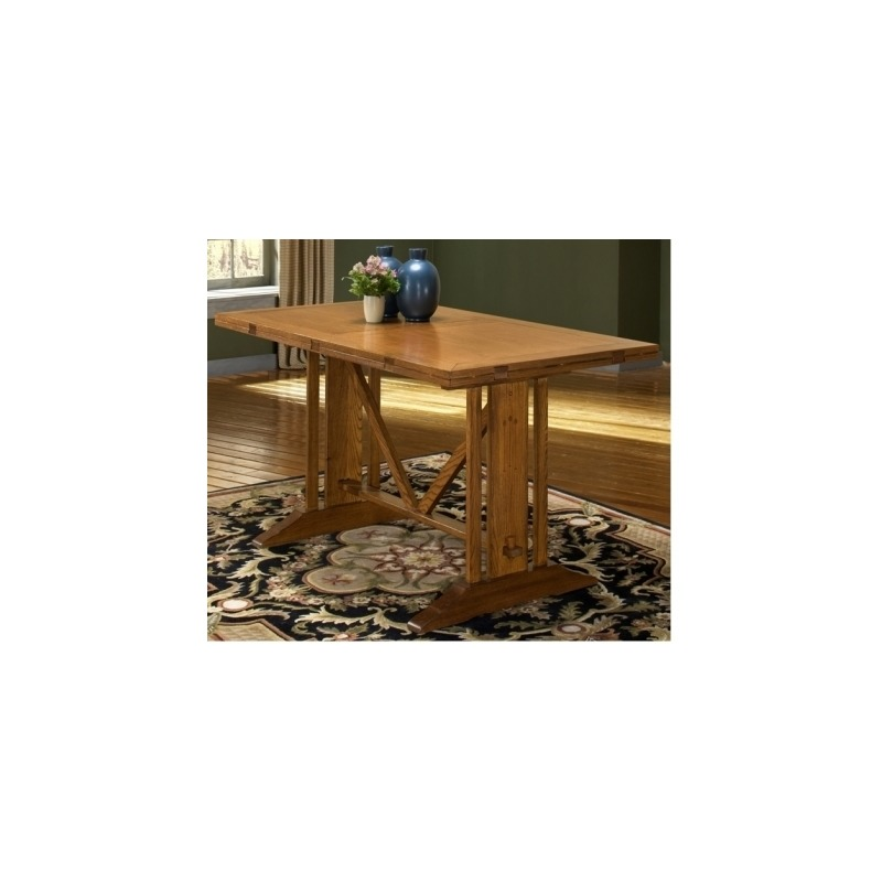 Mission Leopold Dining Room Furniture 36 x 65- 54 x 84 Gathering Table