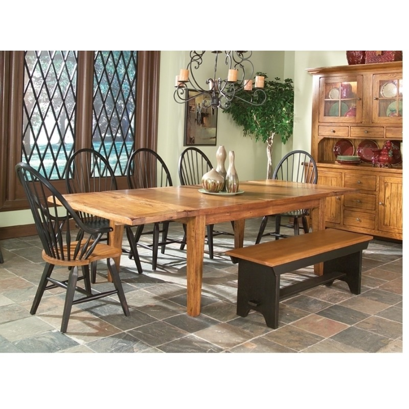 Rustic Traditions Dining Room Furniture 52 Backless Bench