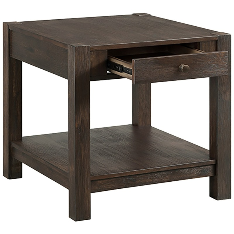 24 End Table w/Drawer