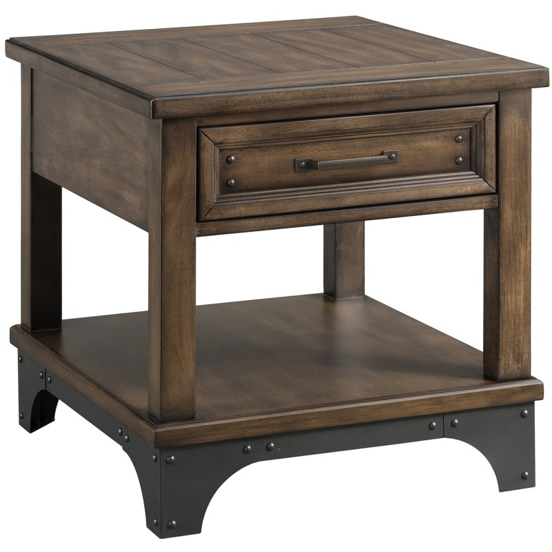 End Table, 23 x 26 x 24
