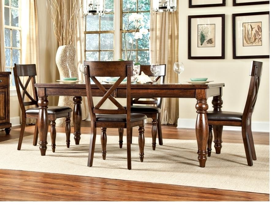Kingston Dining Room Furniture X Back, Classic Oak Furniture Southaven Mississippi