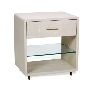 Calypso Bedside Chest - Ivory