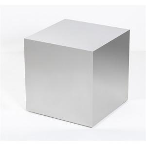 Aubrey Cube Side Table - Silver