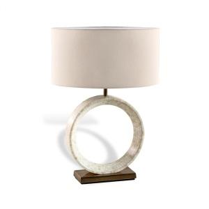 Germain Table Lamp - Ivory