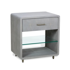 Calypso Bedside Chest - Gray