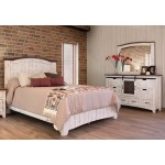 Pueblo White 3 PC King Bedroom Set