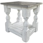 Stone Chairside Table