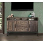"""60"""" TV Stand w/3 Drawers & 2 Doors"""