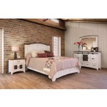 Pueblo White 5 PC Queen Bedroom Set