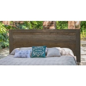 Loft Brown Cal King Panel Headboard