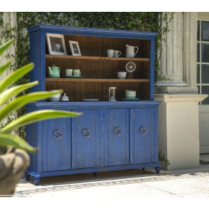 Capri Blue Hutch Set