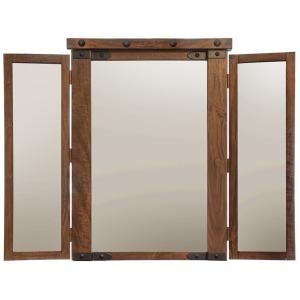 Parota Vanity Mirror
