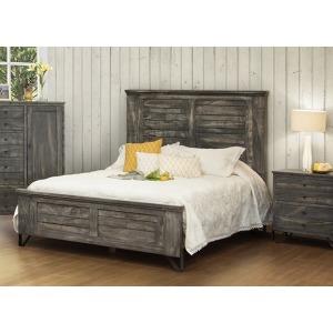 Moro Queen Panel Bed