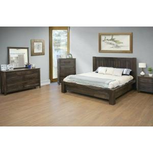 San Luis 3PC King Platform Bedroom Set