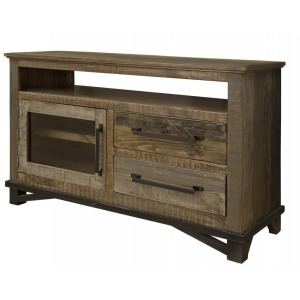 "LOFT BROWN 52"" TV STAND"