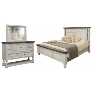 Stone 3 PC Queen Bedroom Set